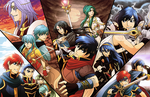 All the Fire Emblem Protagonists