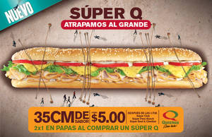 Quiznos Super Q Flyer