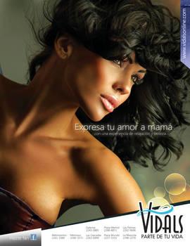 VIdals Magazine Ad.
