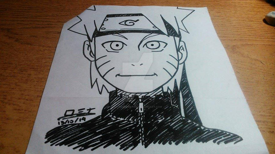 Naruto Attempt n1 by HikaruHeeysin