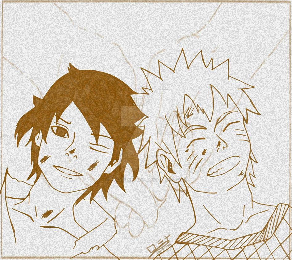 Naruto Shippuden 698 Tomodachi dakara... by HikaruHeeysin