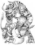 Charr Warrior : Guild Wars