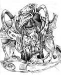 Protoss Zealot Sketch