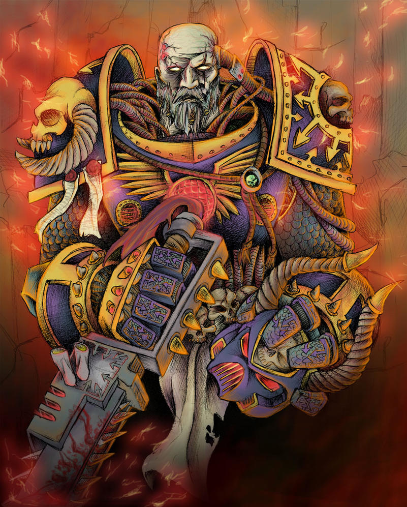 Chaos Space Marine by JeffyP