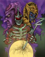 Power Rangers Villains by JeffyP