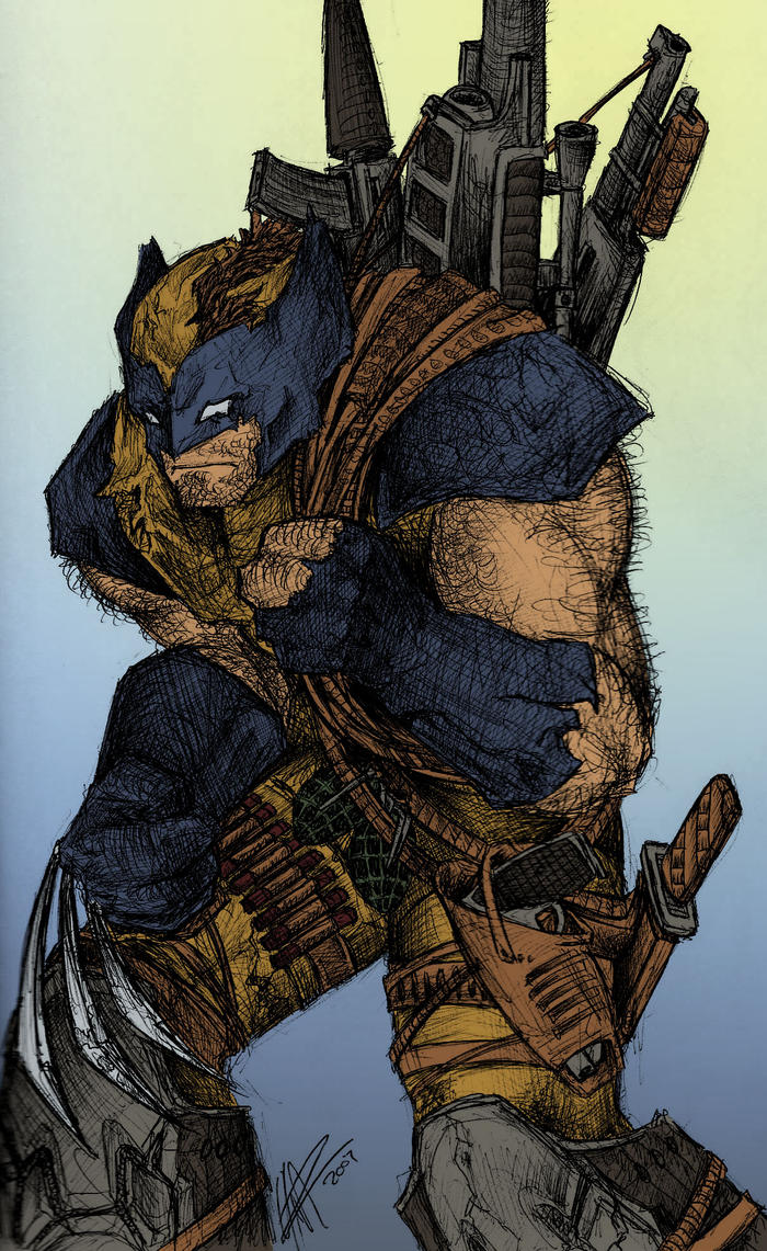 Wolverine! by JeffyP