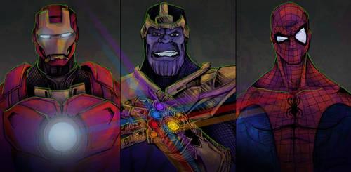 Infinity War! by JeffyP