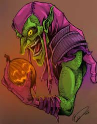 The Green Goblin by JeffyP