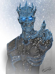 Game of Thrones - Night King by JeffyP