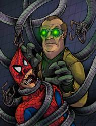 Spider-Man v. Doctor Octopus! by JeffyP