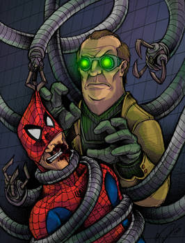 Spider-Man v. Doctor Octopus!