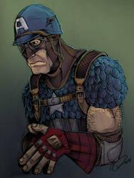 Old, Sad, Cap by JeffyP