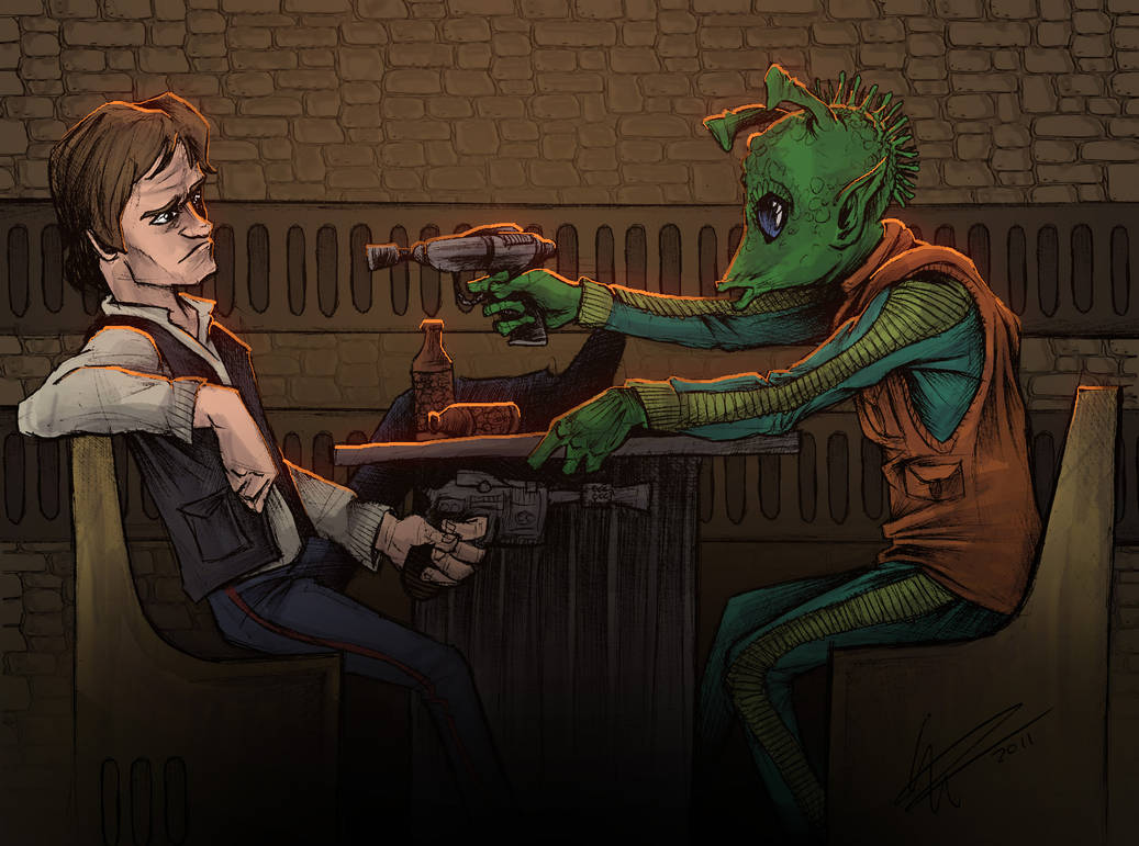 Han Shot First by JeffyP