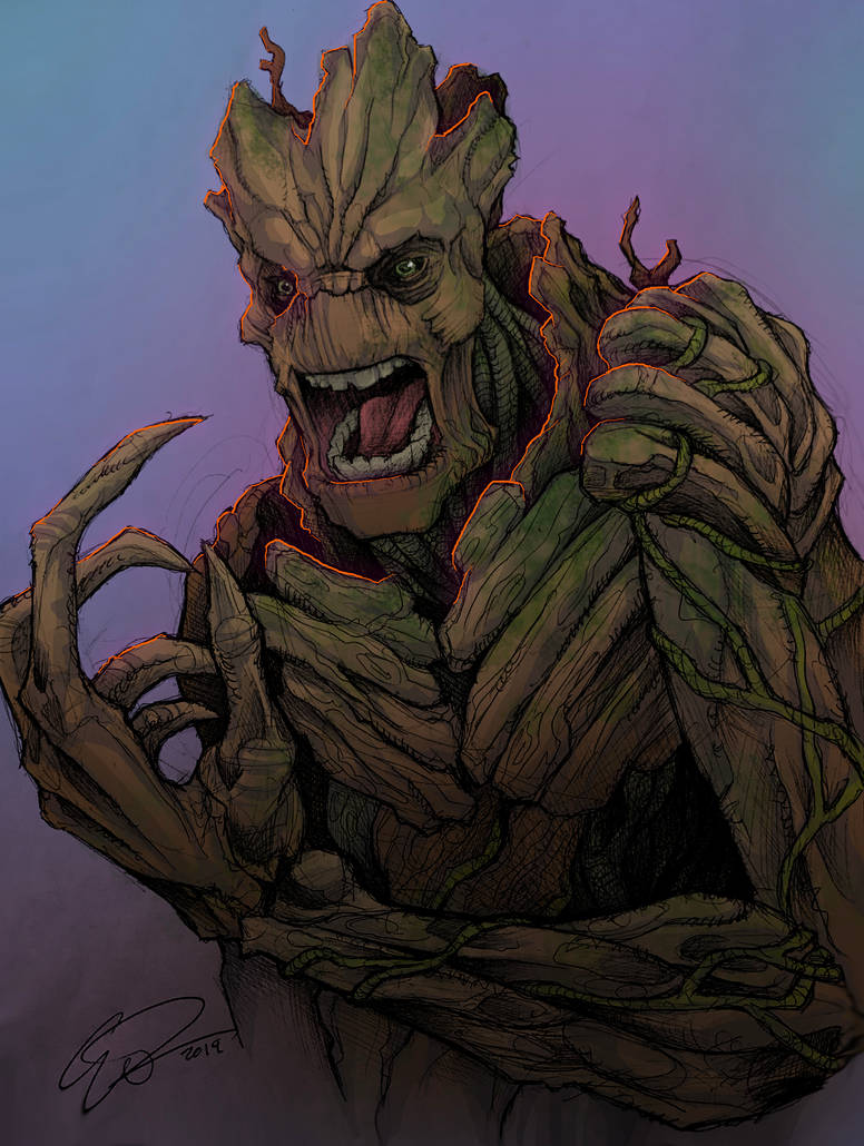 I AM GROOT! by JeffyP