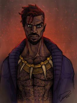 Erik Killmonger from Black Panther