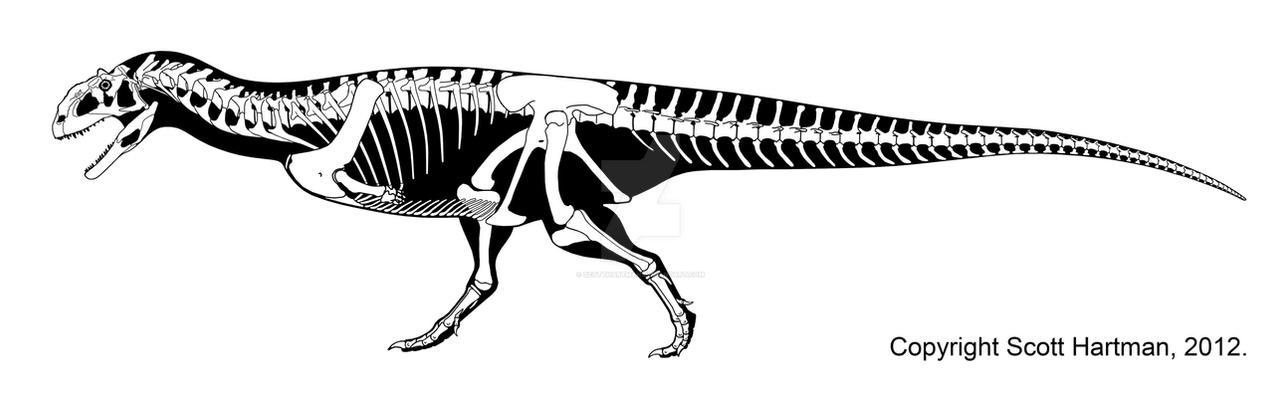 Majungasaurus - redux by ScottHartman