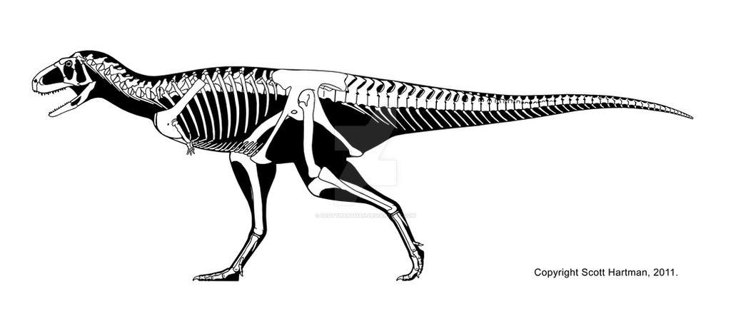 A 'vanilla' abelisaur by ScottHartman