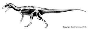 Frozen Crested Elvisaurus