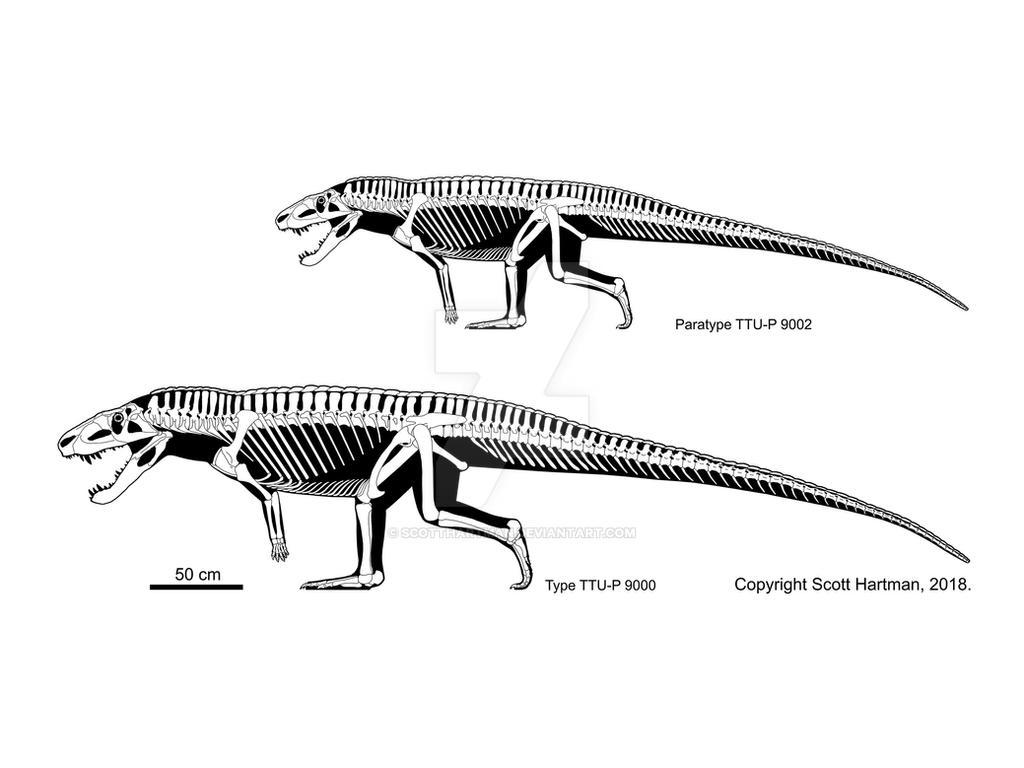 Postosuchus big and small