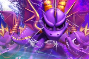 Classic Spyro wallpaper