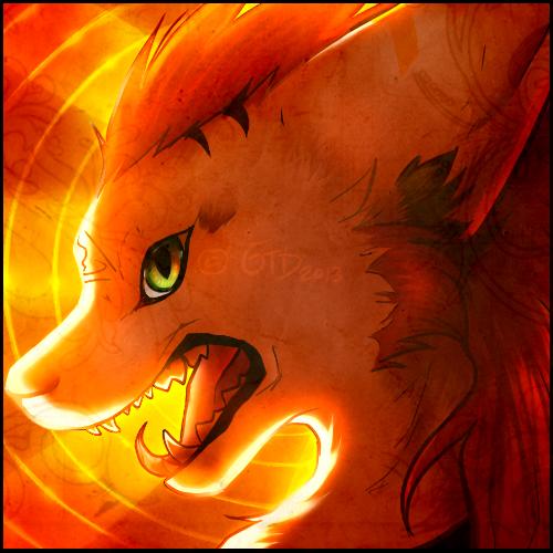Feral Tresh avatar by GoldenTigerDragon