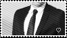 Suit n' Tie stamp by GoldenTigerDragon