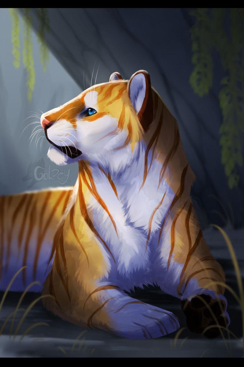 Golden tiger dragon deviantart eliminators dragons dogma gold idol