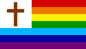New Christian Flag by DeltaUSA