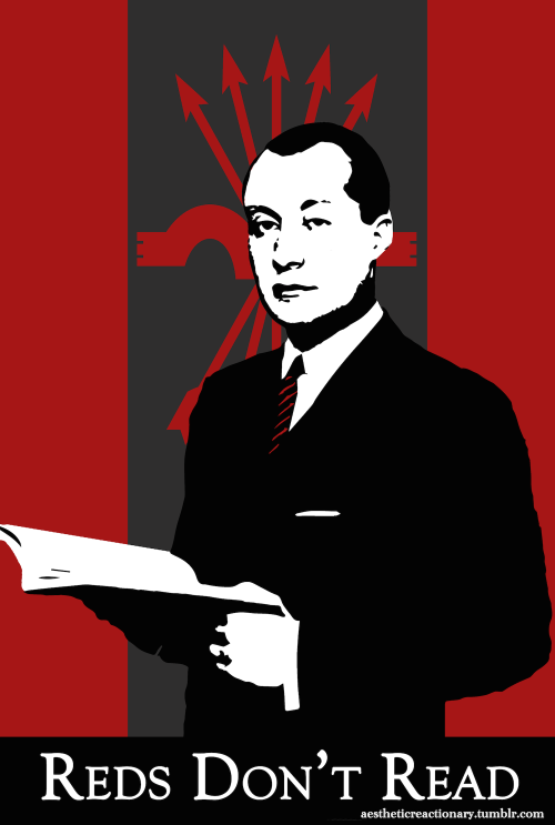 Reds don't read about fascism. by DeltaUSA