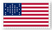 Fort Sumter Flag Stamp by DeltaUSA