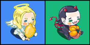 Thor x Loki: Angel and Demon