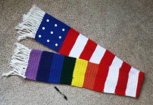 American/Pride scarf