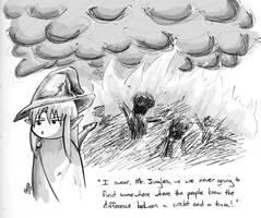 Catharsis through Fire by korafox