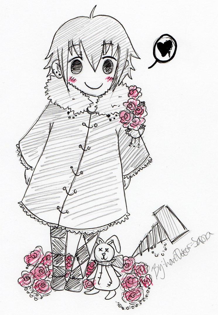 Little Random Sketch 8D by LoveDoctor-Sama