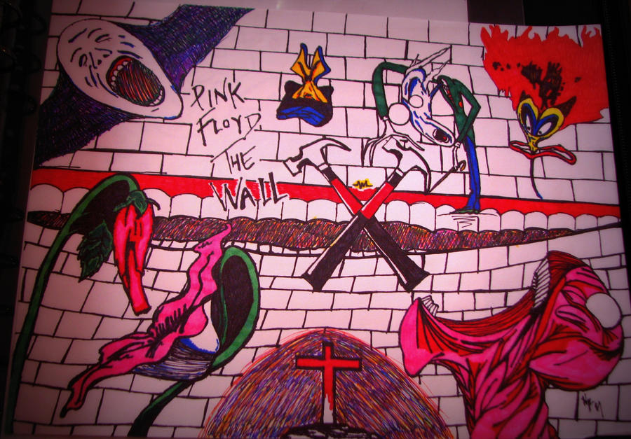 Pink Floyd The Wall #2 by Jade1221
