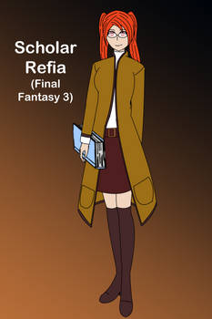 Scholar Refia (Final Fantasy 3)