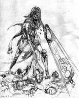 Sword of Radef - pencil