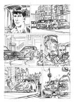 Test page 3 for the comic Dylan Dog by SimoneDelladio