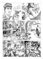 Test page 4 for the comic Dylan Dog by SimoneDelladio