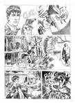 Test page 4 for the comic Dylan Dog