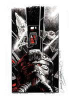 Star Wars -Tie fighter incomin'- by SimoneDelladio