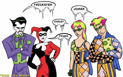 Joker  Harley Meet Trickster  Prank by herrdirektor57