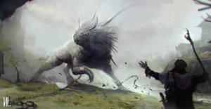 Concept art Monster Hunter by RaZuMinc