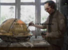 Free Brush pack for Procreate by RaZuMinc