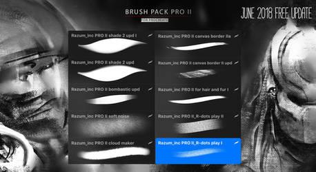 NEW FREE June Update for Brush PAck PRO II by RaZuMinc