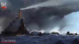 Storm art done in Infinite Painter