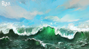 Ocean (Procreate)