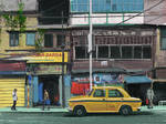 Pleinartpril last day Kolkata city India Procreate