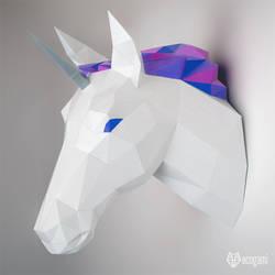Unicorn papercraft