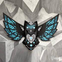 Papercraft owl
